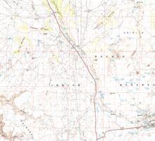 USGS TOPO Map Arizona AZ Tuba City 315314 1983 100000 Sticker