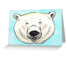 Chipper Polar Bear Greeting Card
