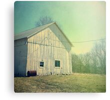 Early Morning in the Country Canvas Print