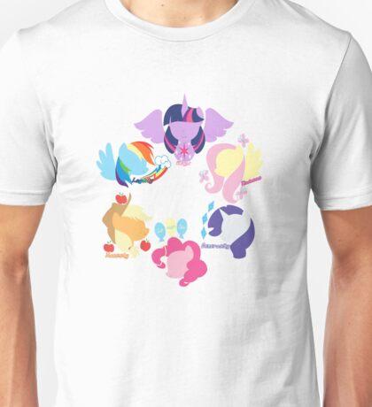 Mane Six 2 Unisex T-Shirt