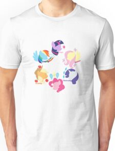 Mane Six Unisex T-Shirt
