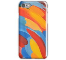 Colored background iPhone Case/Skin