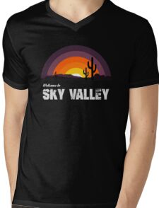 Welcome To Sky Valley Mens V-Neck T-Shirt