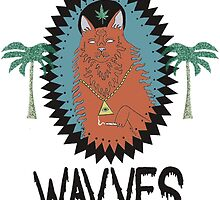 "Wavves ""King of the Beach"" Album Art by ALLCAPS"