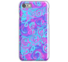 Squiggles Abstract   iPhone Case/Skin