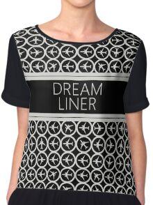 Dream Liner Spot Chiffon Top
