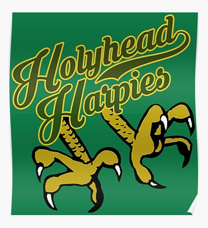 Holyhead Harpies Poster