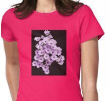 Daisies Dancing in the Dark Womens Fitted T-Shirt