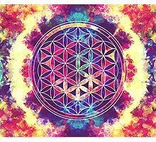 Flower Of Life 02 Photographic Print