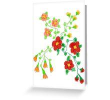 Blooming Floral Greeting Card