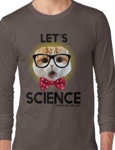 Waffles the Cat - Let's Science Long Sleeve T-Shirt