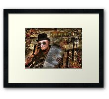The Time Traveler Framed Print