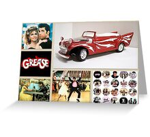 Grease Lightning Greeting Card