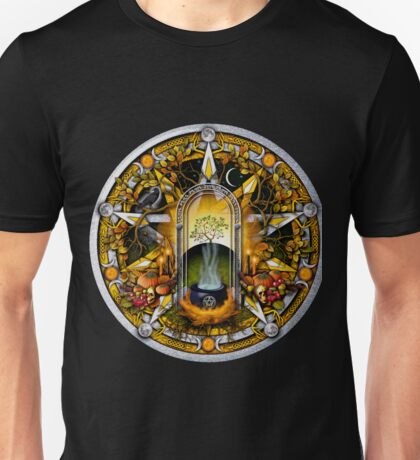 Sabbat Pentacle for Samhain the Witches' New Year Unisex T-Shirt