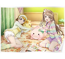 Love Live! School Idol Project - Pajama Party Poster