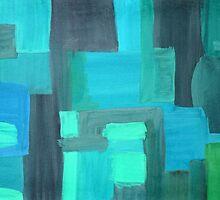 Abstract green background by Tatsiana Kandrashova