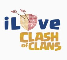 I Love clash of clan by Trish08