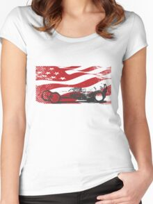 American Dragster Women's Fitted Scoop T-Shirt