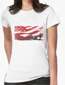 American Dragster Womens Fitted T-Shirt