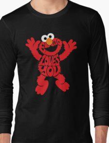 Elmo Loves you Long Sleeve T-Shirt