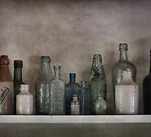 Old Bottles by Yampimon