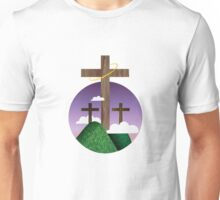 Three Crosses Unisex T-Shirt