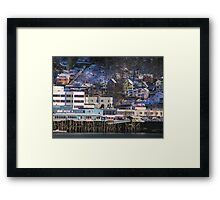Juneau Community Waterfront Framed Print
