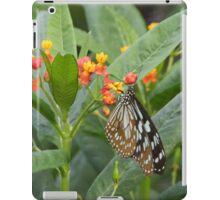Paper Kite Butterfly on a Flower iPad Case/Skin