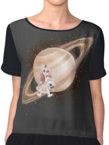 Lost in a Space / Saturnesse Chiffon Top