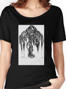 Micron brush pen drawing Women's Relaxed Fit T-Shirt