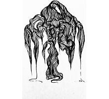 Micron brush pen drawing Photographic Print