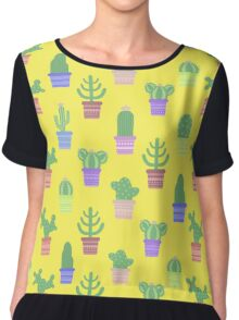Cactus Chiffon Top