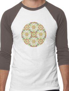 Brocade Mandala Men's Baseball ¾ T-Shirt