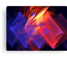 Venusian Ribbons Canvas Print