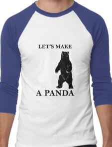 Let's Make A Panda Men's Baseball ¾ T-Shirt