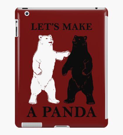 Let's Make A Panda iPad Case/Skin