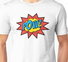 Pop Art Comics Pow! Unisex T-Shirt