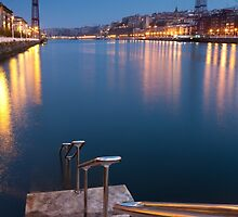 Bridge of Bizkaia by PhotoBilbo