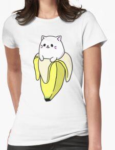 """Bana NYA!"" - Bananya Womens Fitted T-Shirt"
