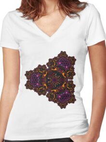 royalty Women's Fitted V-Neck T-Shirt