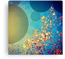 Leaves and Sky Abstract Canvas Print