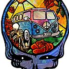 VW Stealie Grateful Dead by DropBeart