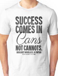 Canned Success Black Text T-shirts & Homewares Unisex T-Shirt