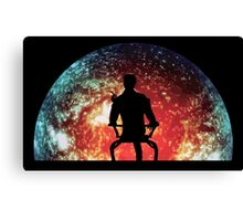 Illusive Man Canvas Print