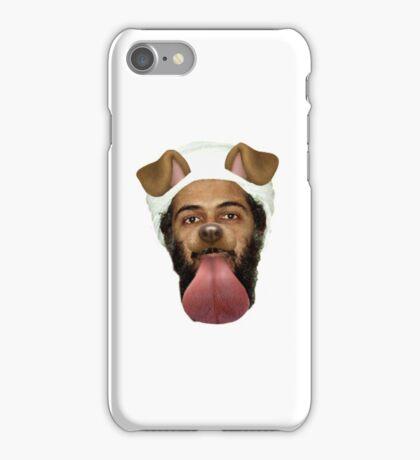 Osama Bin Puppy  iPhone Case/Skin