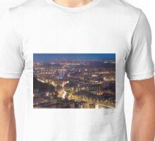 Getting dark in the ria of Bilbao Unisex T-Shirt