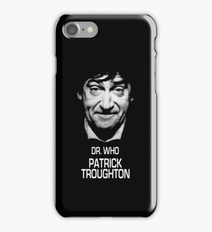 Dr. Who Patrick Troughton iPhone Case/Skin