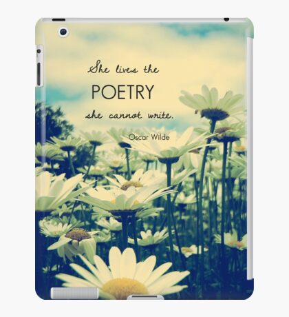 Poetic Life iPad Case/Skin