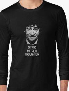 Dr. Who Patrick Troughton Long Sleeve T-Shirt