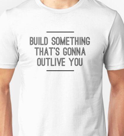 Build Something Unisex T-Shirt